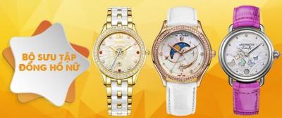 Các thiết kế đồng hồ Thụy Sĩ nữ dây da đặc sắc và tinh tế nhất