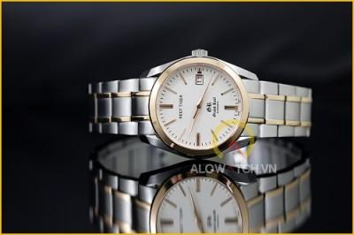 Đồng hồ Reef Tiger RGA818 – mạnh mẽ với dây kim loại trắng bạc