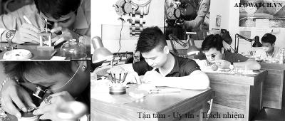 Nhận biết địa điểm sửa đồng hồ uy tín tại Hà Nội