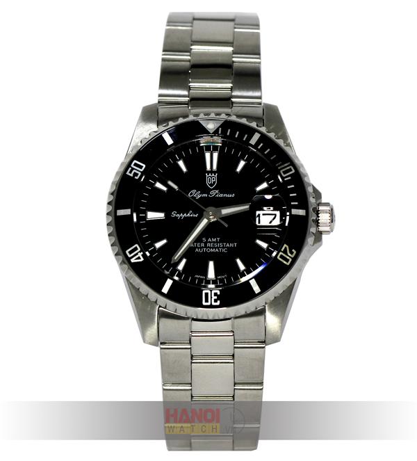 Đồng hồ nam OLYM PIANUS 89983AMS Black