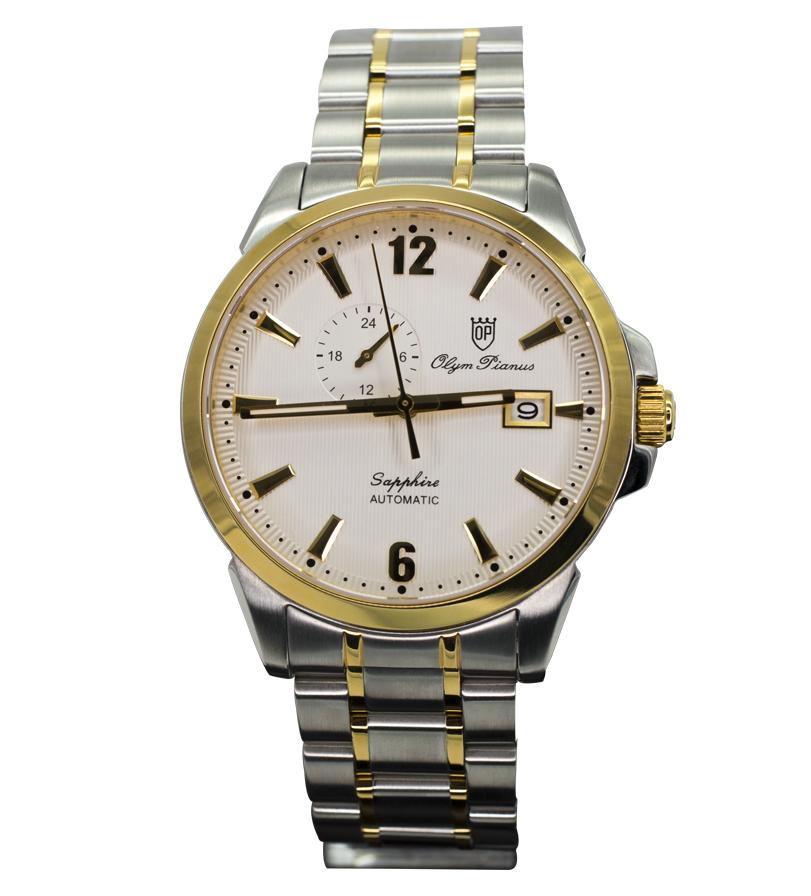 Đồng hồ OLYM PIANUS nam white 990-081AMSK