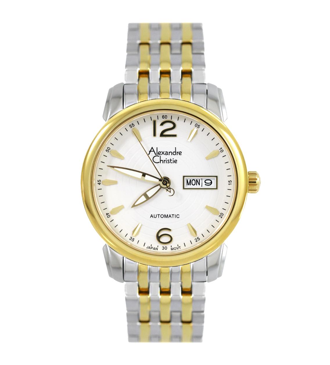 Đồng hồ Alexandre Christe nam tự động 8A199M