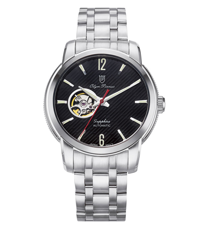 Đồng hồ nam OLYM PIANUS 990-132AGS Black