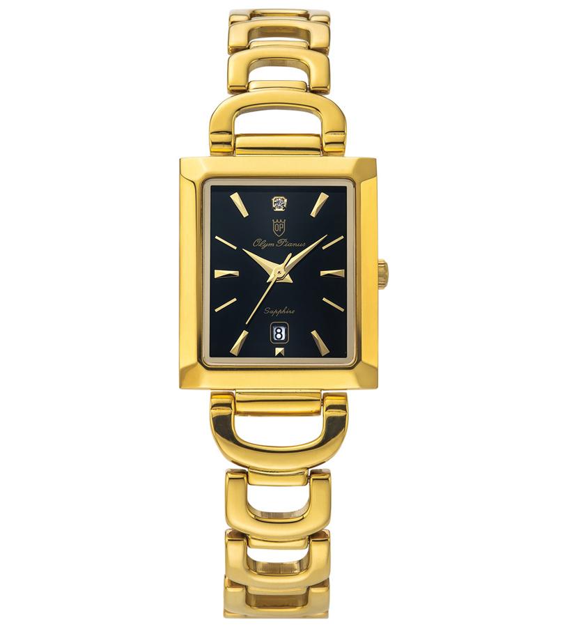 Đồng hồ Olym Pianus nữ mặt đen OP2477LK