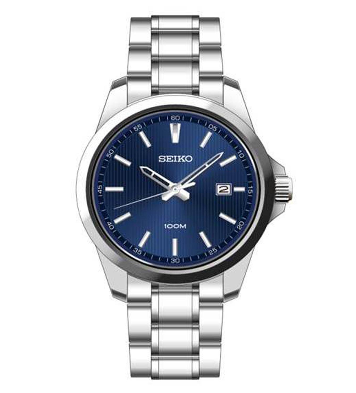 Đồng hồ Seiko quartz 3 kim SUR153P1