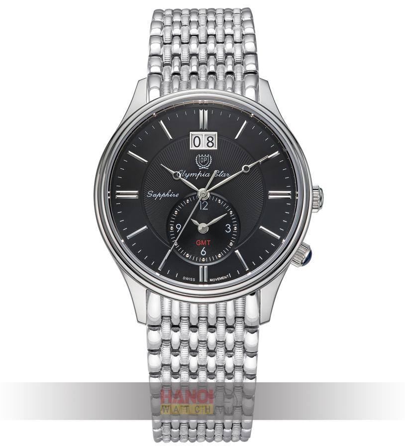 Đồng hồ Olympia Star nam 580501-03MS Black
