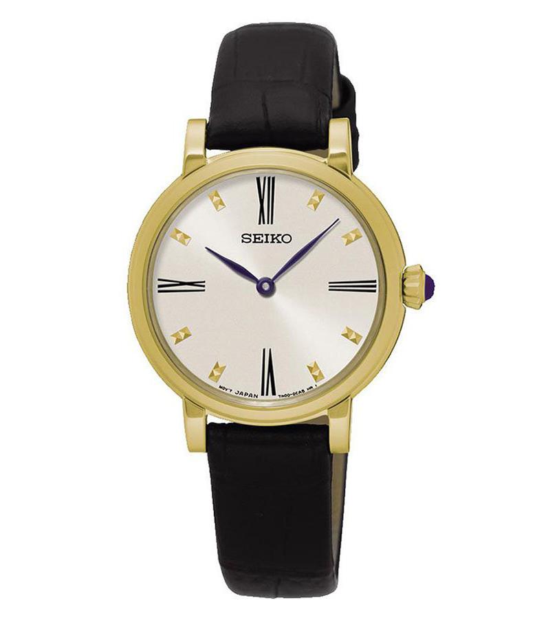 Đồng hồ Seiko nữ dây da SFQ814P2