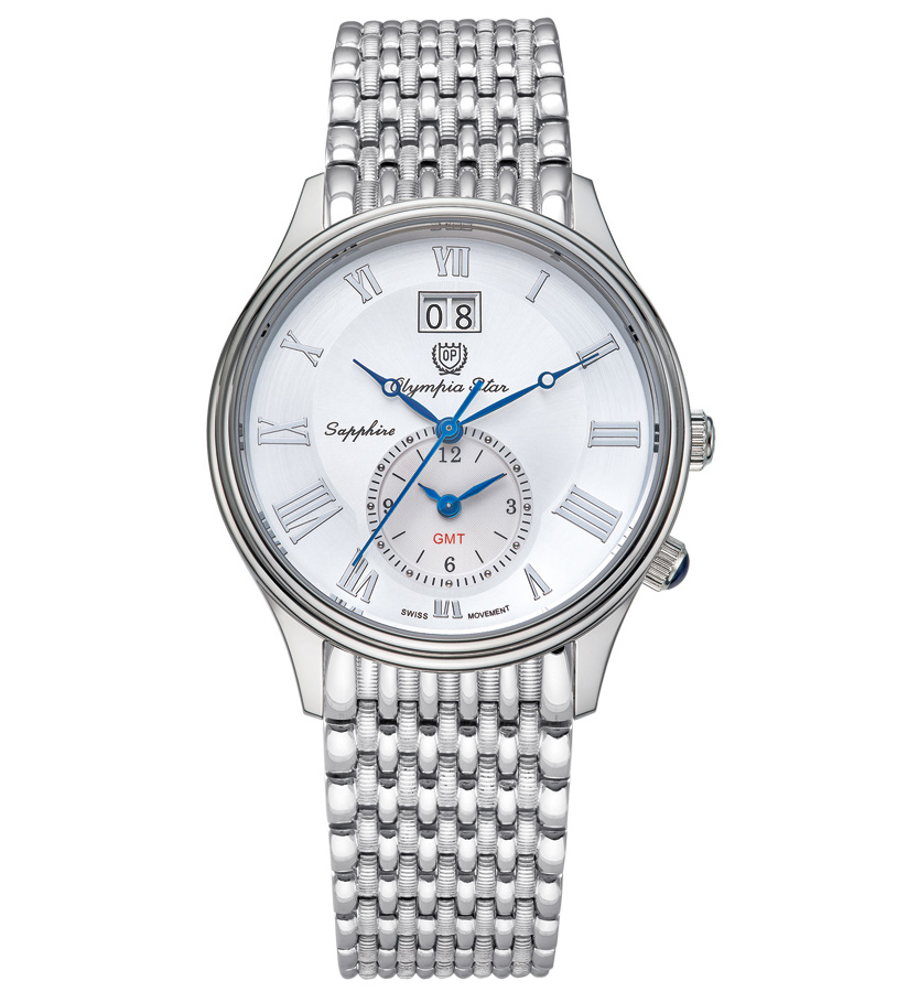 Đồng hồ nam Olympia Star White 580501-03MS