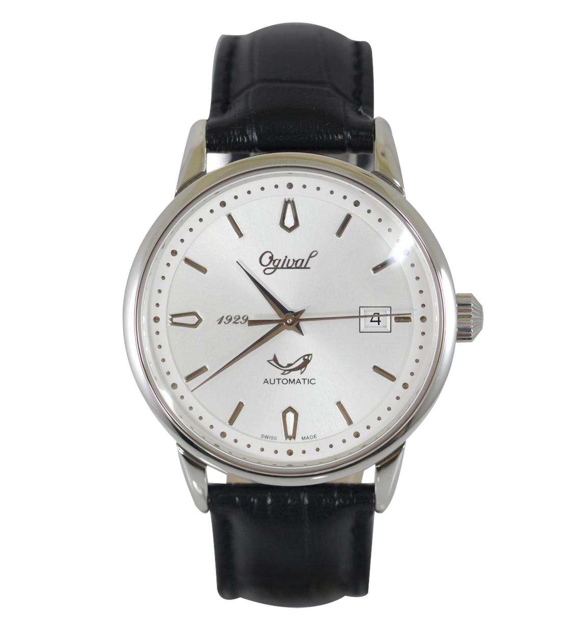 Đồng hồ nam Ogival 1929 White OG1929-24AGS-GL