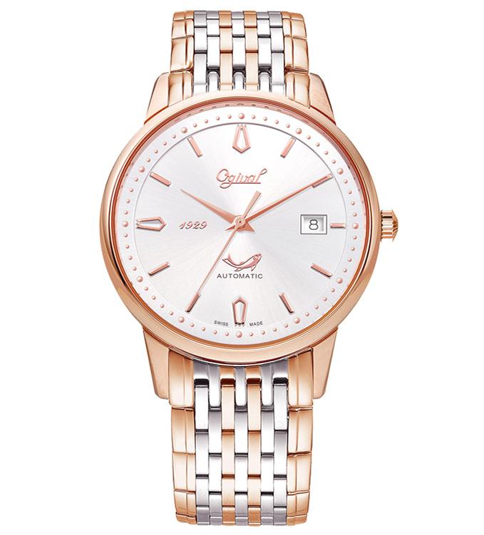 Đồng hồ OGIVAL nam vàng hồng OG1929-24AGSR