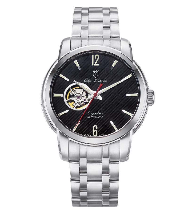 Đồng hồ Olym Pianus Open Heart OP990-132AMS-D