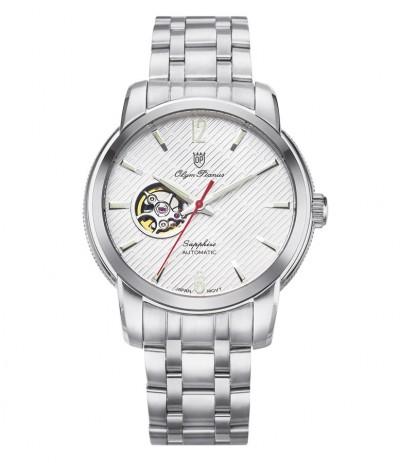 Đồng hồ nam OLYM PIANUS 990-132AGS White