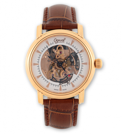 Đồng hồ Ogival nam dây da OG358.61AGR-GL