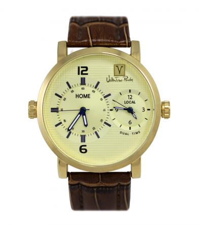 Đồng hồ Valentino Rudy Dual Time VR8805GDBRM.M