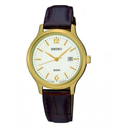 Đồng hồ Seiko nữ dây da SUR790P1