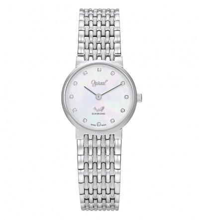 Đồng hồ nữ Ogival Thụy Sỹ OG385-022LW