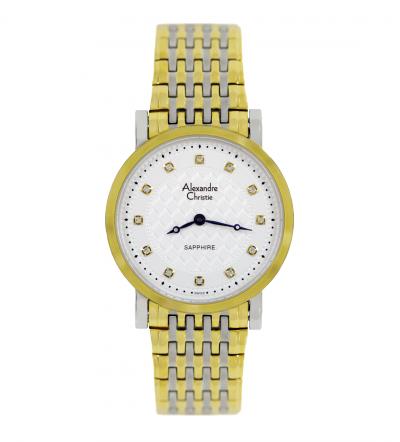Đồng hồ Alexandre Christie siêu mỏng 8B60A-MTDCR