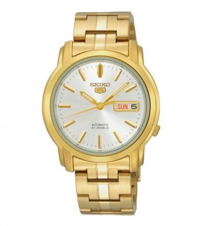 Đồng hồ Seiko 5 mạ vàng SNKK74K1
