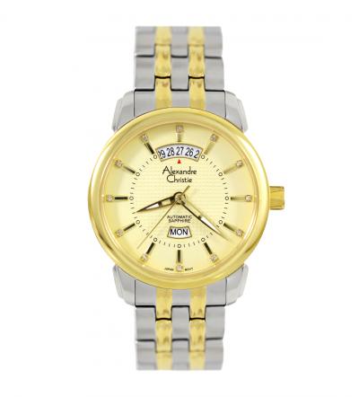 Đồng hồ 2 lịch Alexandre Christie 8A169A-MTGGO