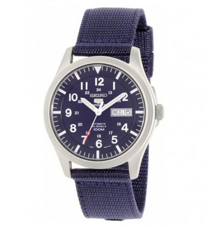 Đồng hồ Seiko 5 quân đội dây dù SNZQ11K1