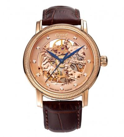 Đồng hồ nam Ogival Skeleton OG358.33AG