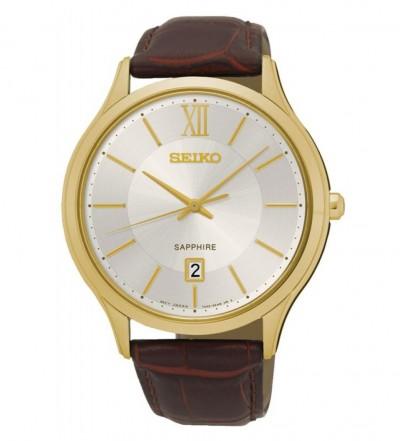 Đồng hồ Seiko chính hãng dây da SGEH56P1
