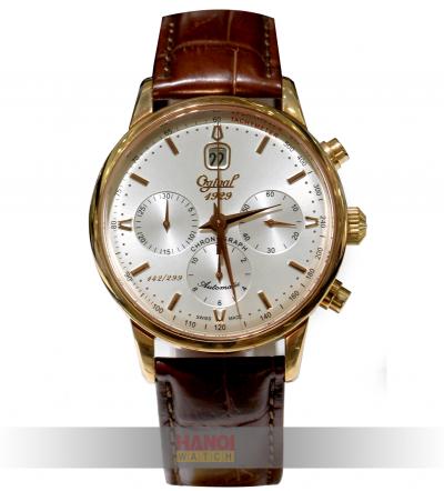 Đồng hồ Ogival Chronograph OG1929-25AGR-GL