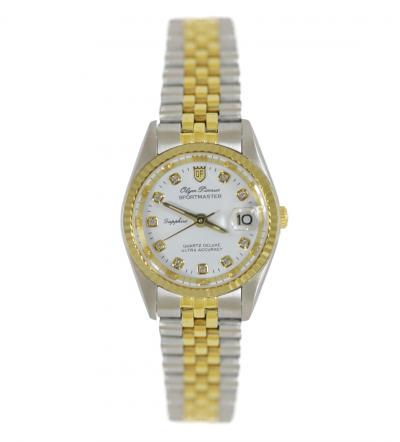 Đồng hồ nữ Olym Pianus mặt trắng OP68322LK-T