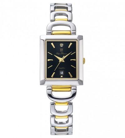 Đồng hồ Olym Pianus nữ mặt đen OP2477LSK