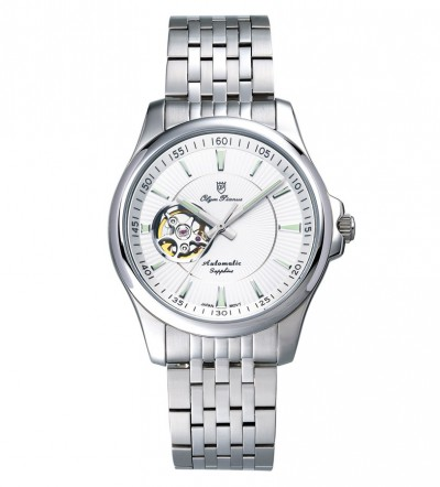 Đồng hồ cơ OLYM PIANUS 990-092AMS White