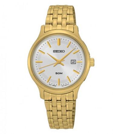 Đồng hồ Seiko nữ mạ vàng SUR792P1