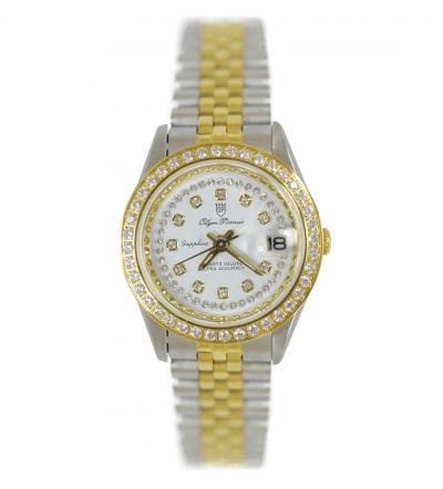Đồng hồ nữ đính đá Olym Pianus OP68322DLK-T