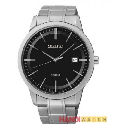 Đồng hồ Seiko nam mặt đen SGEH09P1