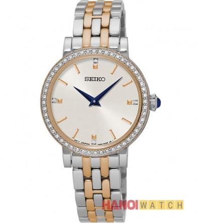 Đồng hồ Seiko nữ đính đá SFQ810P1