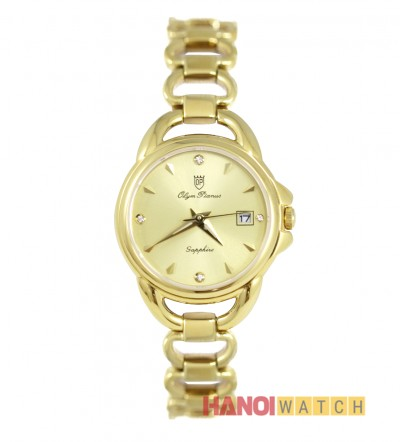 Đồng hồ Olym Pianus nữ mạ vàng OP2467LK-V