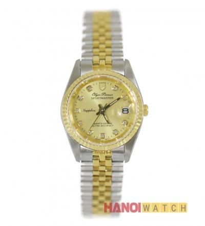 Đồng hồ Olym Pianus nữ mạ vàng OP68322LK-V