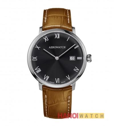Aerowatch Heritage Slim Quartz 21976-AA02