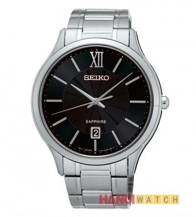 Đồng hồ Seiko chính hãng mặt đen SGEH53P1