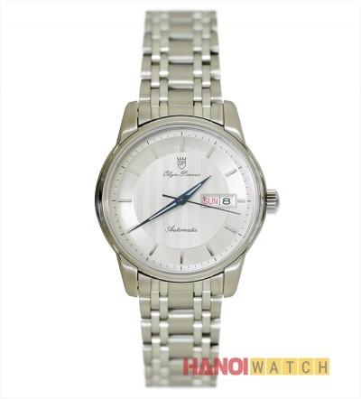 Đồng hồ Olym Pianus nam mặt trắng OP990-16AMS-T